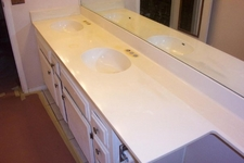Countertops. Unfinshed Counter